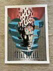 Total Recall Screen Print Poster by Tim Doyle - Authentic Ltd Edition Signed