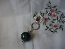 Vera Bradley Blue Rhapsody  Keychain Multi-color Floral and Shatter BIN  $18