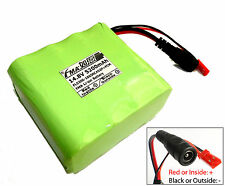 A SANYO Li-ion 18650 14.8V 5200mAh Battery Pack With PCM 8cells to 4S2P W/Plug