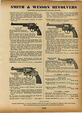1939 AD Smith & Wesson Revolvers Military Police .38 .32 357 Magnum