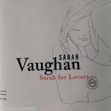 Sarah Vaughan - Sarah for Lovers (CD, Jan-2003, Verve) Near MINT 10/10