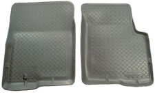 Husky Liners Classic Style Gray Front Floor Liners for 97-17 Ford E-350 & More