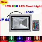 10W DC / AC LED Spot RGB Flood Light Landscape Outdoor Lamp Remote Controller