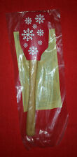 Brand New Pampered Chef Let it Snow - White Snowflake Scraper Spatula Item #1283