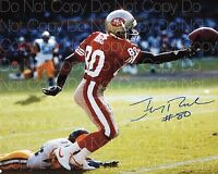 Jerry Rice signed 2 San Fransisco 49ers 8X10 photo picture poster autograph RP