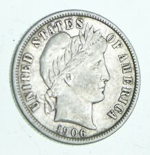 1906-D Barber Dime - Walker Coin Collection *854