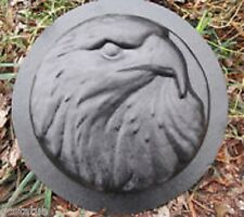 plaster,concrete EAGLE stepping stone plastic casting garden mold mould