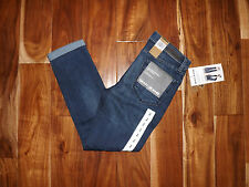 NWT Womens DKNY JEANS Skinny Crop Soho Medium Wash Jeans Size 4