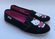 4d5aca968 Vans Hello Kitty Shoes Slip On Flats Loafers Size 6