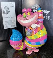 Disney Britto Cheshire The Cat From Alice in Wonderland Resin Figurine 4051799