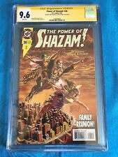Power of Shazam! #26 - DC - CGC SS 9.6 NM+ - Signed by Jerry Ordway, Manley
