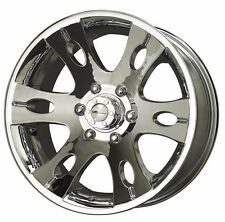 17X8 33 Offset  6x139.7 MB Motoring Blitz Chrome Wheels/Rims Inch Discontinued