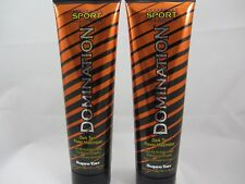 2 PACK = SUPRE DOMINATION SPORT POWER MAXIMIZER TANNING LOTION