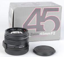 Contax BLACK 45mm f2 G Planar T* BRAND NEW