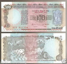 100 Rs S.Venkitaramanan Pink Agriculture (Plain Inset)(G-25 / G-41)@ Unc Cond