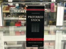 PREFERRED STOCK COLOGNE SPRAY BY STETSON 29.5 ML (HARD TO FIND)