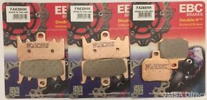 EBC Sintered FRONT and REAR Brake Pads Fits DUCATI MONSTER 1200 (2014 to 2021)