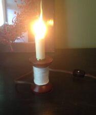 Primitive Spool Of Thread Lamp