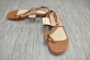 **Cole Haan Anica Thong Sandal, Women's Size 7B, Pecan Rose Gold