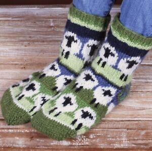 Pachamama Flock of Sheep Wool Sofa Socks Made in Nepal