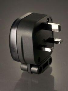 MS HD Power MS-328R Rhodium 13A UK Mains Plug.  DECO