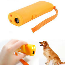 3 In 1 Training Repeller Stop Barking Dog LED Light Ultrasonic Anti Bark Hot