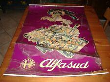 Poster manifesto stampa cartellone officina alfa romeo alfasud 99x68 cm.