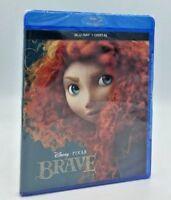 Brave (Blu-ray+Digital, 2017; 2-Disc Set) NEW