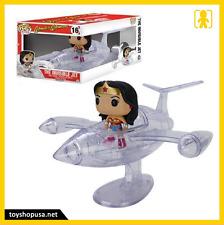 DC Comics Wonder Woman Invisible Jet Pop Funko