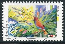 TIMBRE FRANCE  AUTOADHESIF OBLITERE N° 1238 / L'OUIE / CHANT D'UN OISEAU