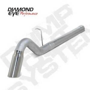"Diamond Eye Single 4"" Filter-Back Exhaust TD for Chevy/GMC Duramax 6.6L 11-15"