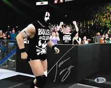 Tama Tonga Signed 8x10 Photo BAS COA New Japan Pro Wrestling The Bullet Club WWE
