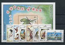Afghanistan 1445/51 Block 79 postfrisch / Vögel ..........................1/1824
