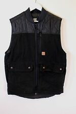 DC Mens Ride Built Series Body Warmer Gilet Jacket in Black, Size M