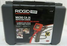 RIDGID MICRO CA-25 INSPECTION CAMERA See Under Behind and Around