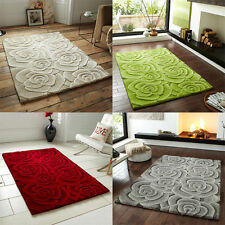 Floral Indian Regional 100% Wool Rugs
