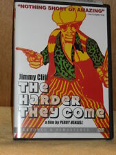 The Harder They Come (DVD, 2010) Jimmy Cliff Janet Bartley Carl Bradshaw