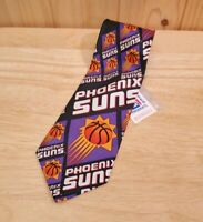"New Vintage Pheonix Suns NBA Neck Tie Necktie RM Ralph Marlin Basketball New 56"""