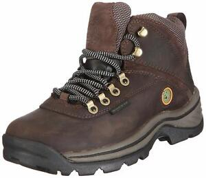 Timberland Women's White Ledge Mid Ankle Boot, Dark Brown, Size 9.0 PolE