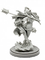 Pinup Twilight Witch Model for Kingdom Death Game Resin Figure Recast 30mm