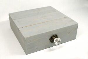 Blue Rustic Cake Stand Box, Blue Wedding Cake Stand, Cupcake Stand Display,