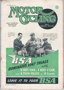 Racing Development,HRD Gunga Din Sprinter,Indians for 1948,Motor Cycling 1947