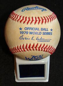 1979 RAWLINGS ORIGINAL VINTAGE UNUSED WORLD SERIES BASEBALL - PIRATES V. ORIOLES