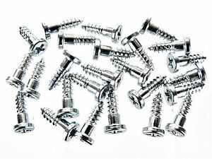 GM Windshield & Rear Window Trim Molding Clip Screw-in Studs- Qty.25- #221