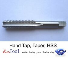 7/16-20 UNF Hand Tap Taper GH3 Limit 4 Flute HSS Taper Chamfer Bright Threading
