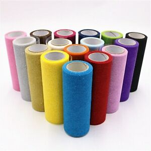 15cm 10Yards Glitter Tulle Roll Sparkly Glitter Sequin Organza Mesh DIY Party