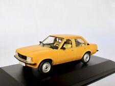 Opel Ascona B  1975-1981  orange   /    Schuco 1:43