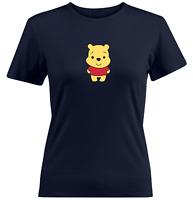 Juniors Girl Women Teen Tee T-Shirt Gift Shirts Love Cuties Pooh Honey Cute S~2X
