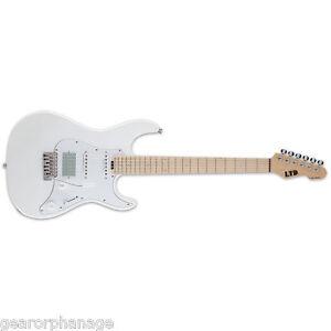 ESP LTD SN-1000W Maple Duncan Pearl White PW Electric Guitar NEW SN1000