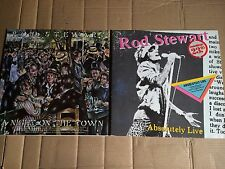 ROD STEWART - ABSOLUTELY LIVE + A NIGHT ON THE TOWN - 3 LP